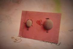 Szerelem képesFalap - Szerelmes kavicsok