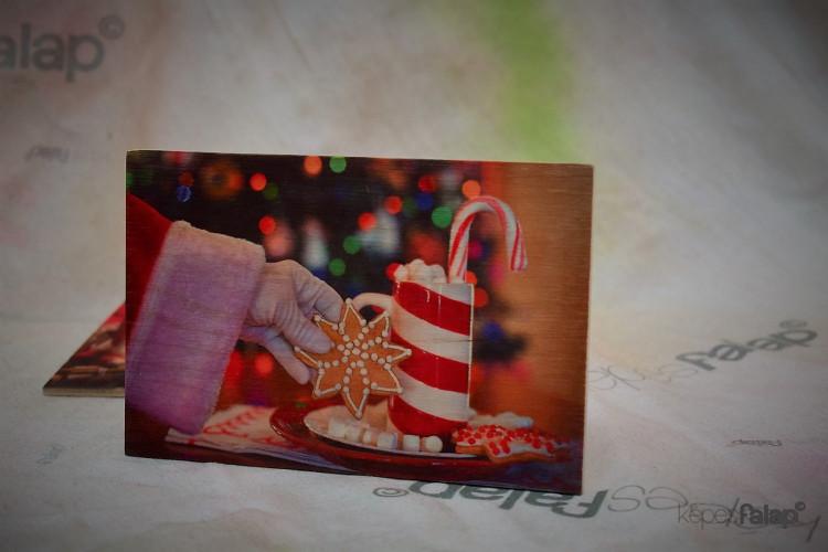 Karácsonyi képesFalap - Mézeskalács
