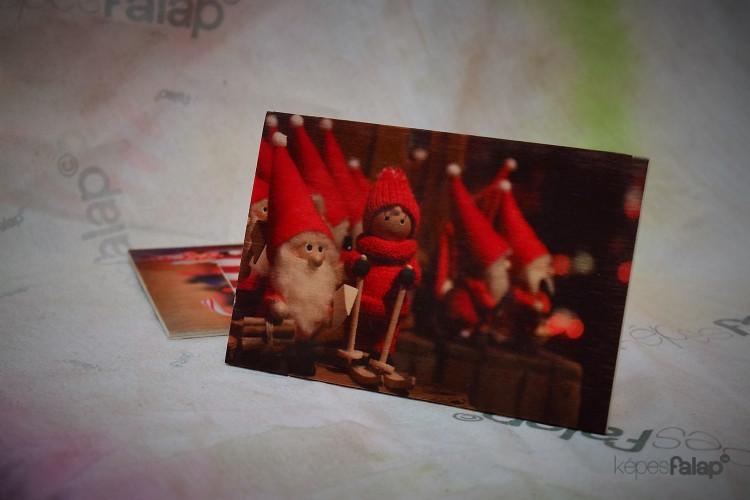 Karácsonyi képesFalap - Manó