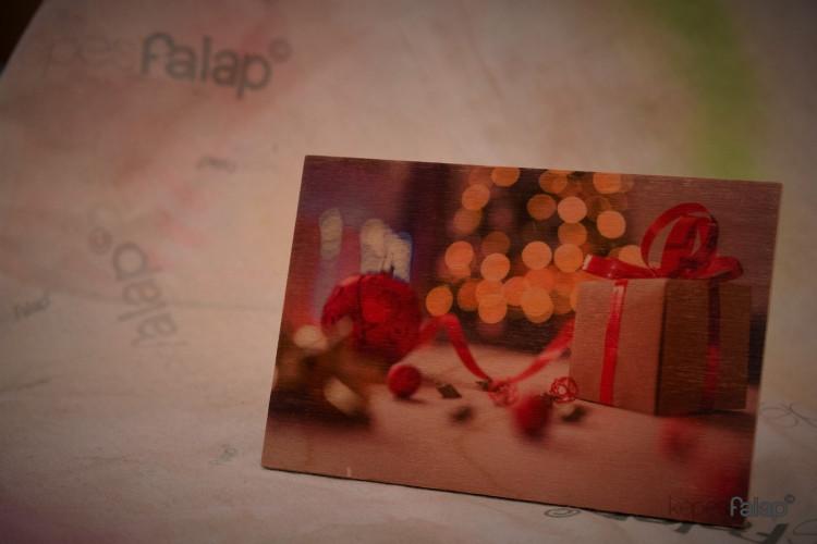 Karácsonyi képesFalap - Ajándék doboz