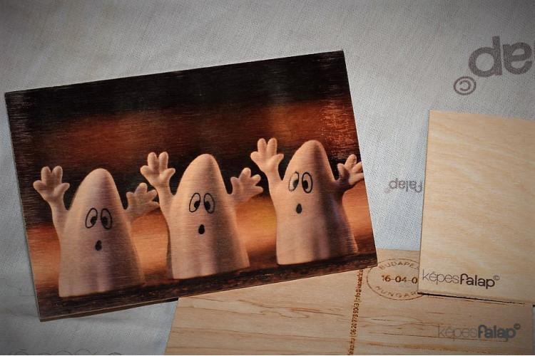 Halloween képesFalap - Szellemes